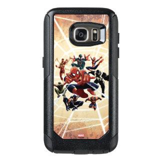 Spider-Man Web Warriors Attack OtterBox Samsung Galaxy S7 Case