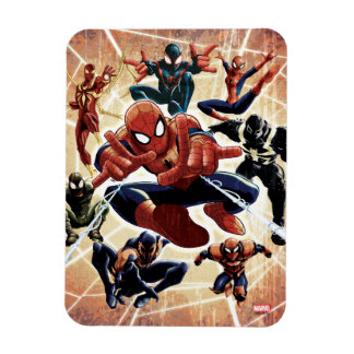 Spider-Man Web Warriors Attack Rectangular Photo Magnet