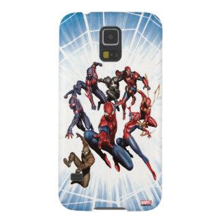 Spider-Man Web Warriors Gallery Art Galaxy S5 Cases