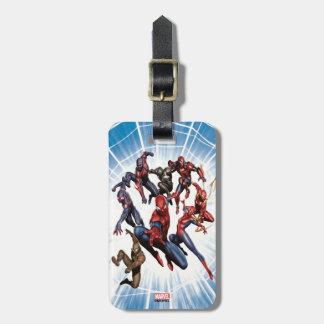 Spider-Man Web Warriors Gallery Art Luggage Tag