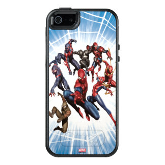 Spider-Man Web Warriors Gallery Art OtterBox iPhone 5/5s/SE Case