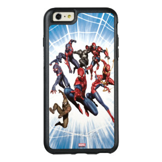 Spider-Man Web Warriors Gallery Art OtterBox iPhone 6/6s Plus Case