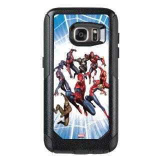 Spider-Man Web Warriors Gallery Art OtterBox Samsung Galaxy S7 Case