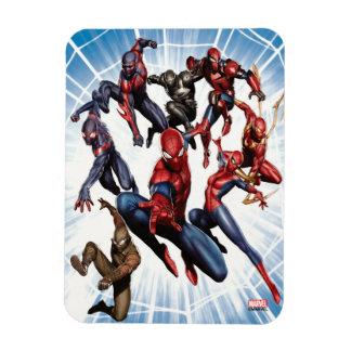 Spider-Man Web Warriors Gallery Art Rectangular Photo Magnet