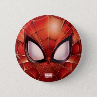 Spider-Man Webbed Mask 6 Cm Round Badge