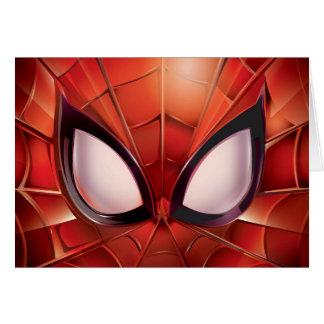Spider-Man Webbed Mask Card