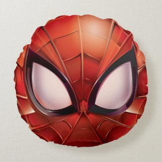 Spider-Man Webbed Mask Round Cushion