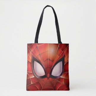 Spider-Man Webbed Mask Tote Bag