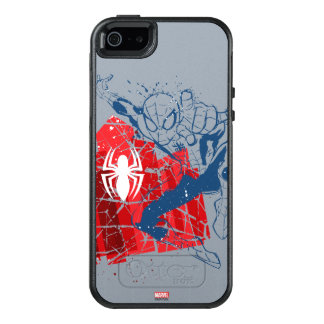 Spider-Man Worn Graphic OtterBox iPhone 5/5s/SE Case