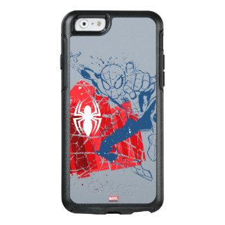 Spider-Man Worn Graphic OtterBox iPhone 6/6s Case