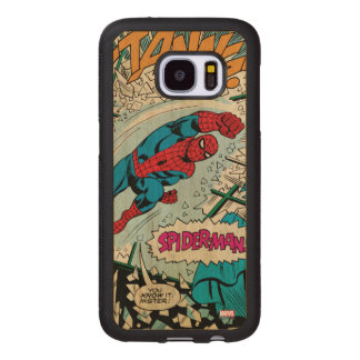 "Spider-Man ""You Know It Mister!"" Wood Samsung Galaxy S7 Case"