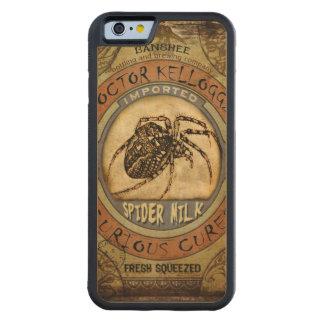 Spider Milk Carved® Maple iPhone 6 Bumper