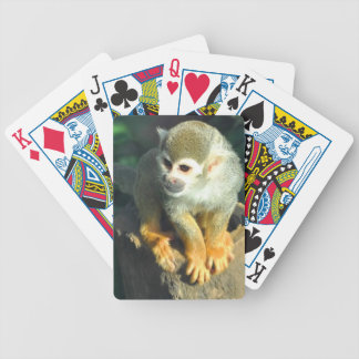 Spider Monkey Bicycle Playing Cards