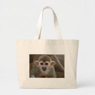 Spider Monkey Large Tote Bag