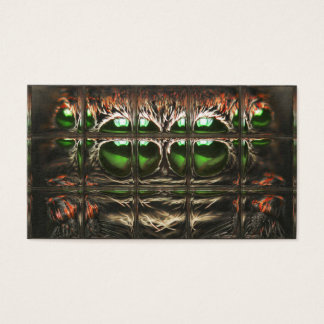 Spider mosaic business card