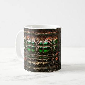 Spider mosaic coffee mug