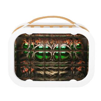 Spider mosaic lunch box
