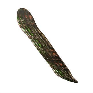 Spider mosaic skate deck