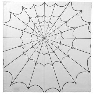 spider napkin
