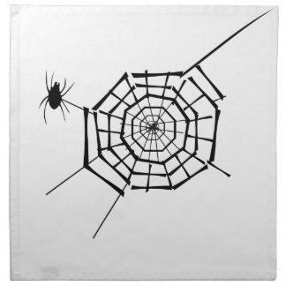 spider nest napkin