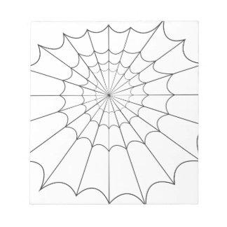 spider notepad