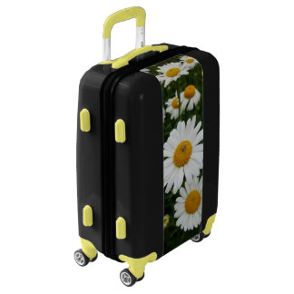 Spider on Daisies Carry-on Luggage