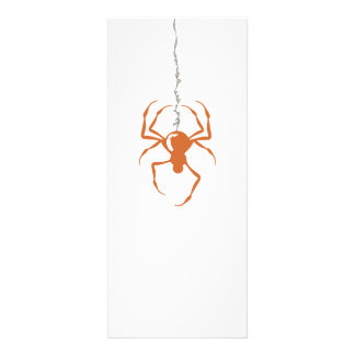 Spider on Strand Orange Invitations