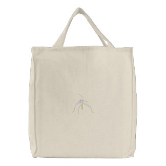 Spider Orchid Canvas Bag