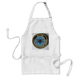 spider patch.russian secret service adult apron