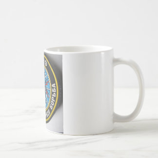 spider patch.russian secret service coffee mug