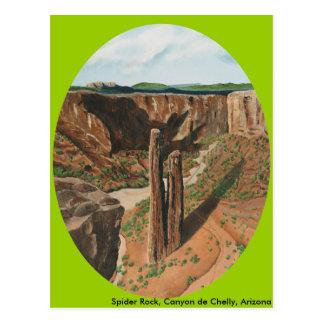 Spider Rock, Canyon de Chelly, Arizona Postcard