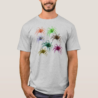 Spider Shirt (Ver. 2)  Colorful Spiders!