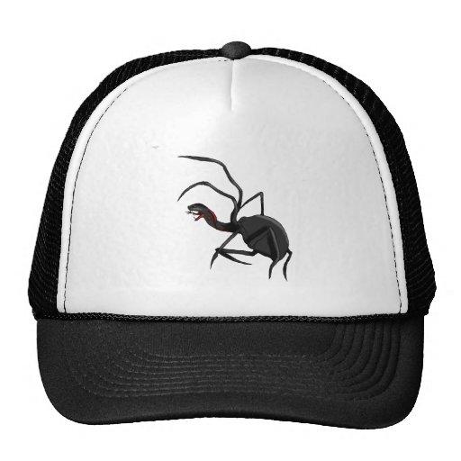 spider snake mesh hat