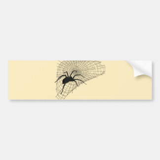 Spider spider net SPI that Web Bumper Sticker