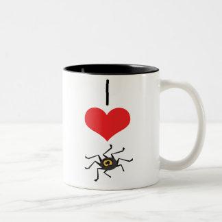 spider Two-Tone coffee mug