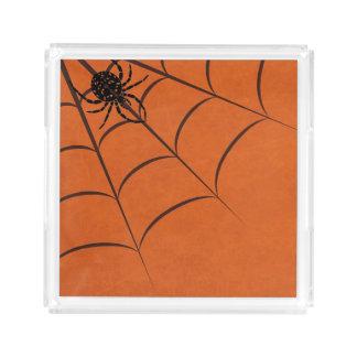 Spider & Web Acrylic Tray