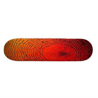 Spider Web Art Skateboard