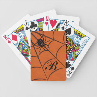 Spider & Web Bicycle Playing Cards