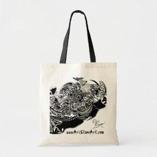 Spider Web Budget Tote