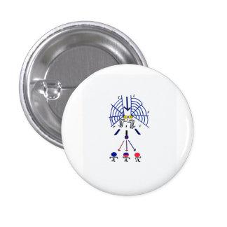 spider web button