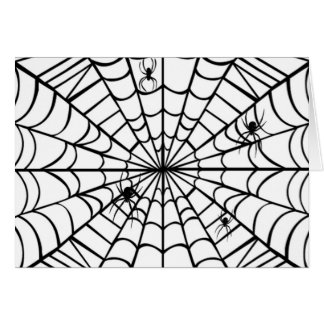Spider Web Card