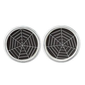 Spider Web Cufflinks