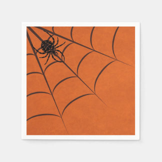 Spider & Web Disposable Napkins