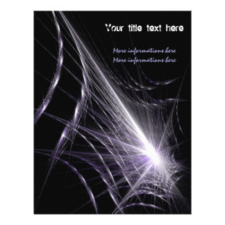 Spider Web Personalised Flyer