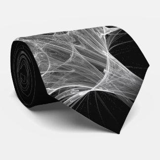 Spider Web Fractal Design Tie