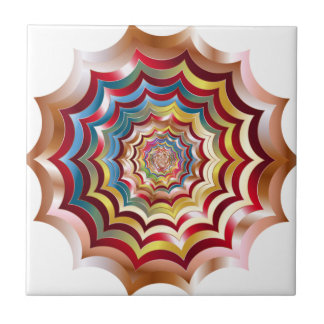 spider web hypnotic revitalized ceramic tile