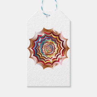 spider web hypnotic revitalized gift tags