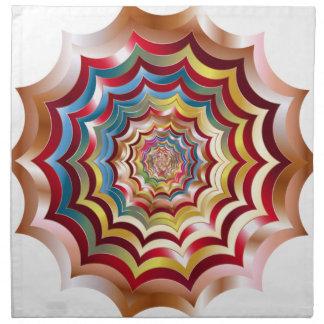 spider web hypnotic revitalized napkin