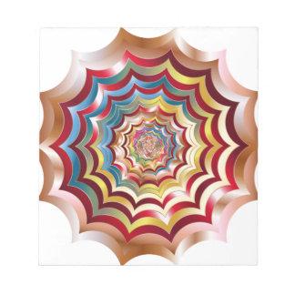spider web hypnotic revitalized notepad
