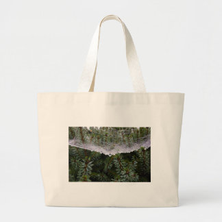 Spider web large tote bag
